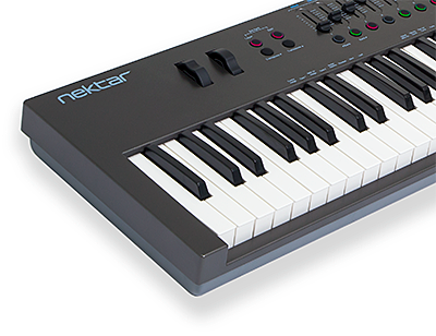 midi controller keyboard cubase nektar technology inc. Black Bedroom Furniture Sets. Home Design Ideas