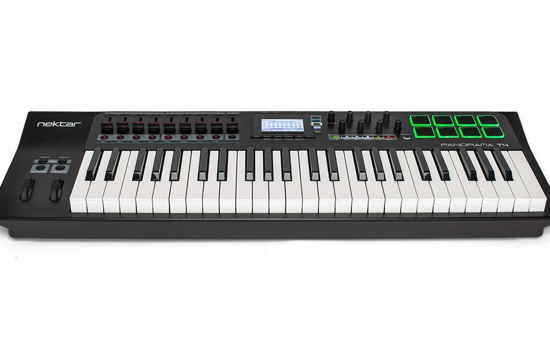 Nektar Technology launch new Panorama T-series MIDI controller keyboards