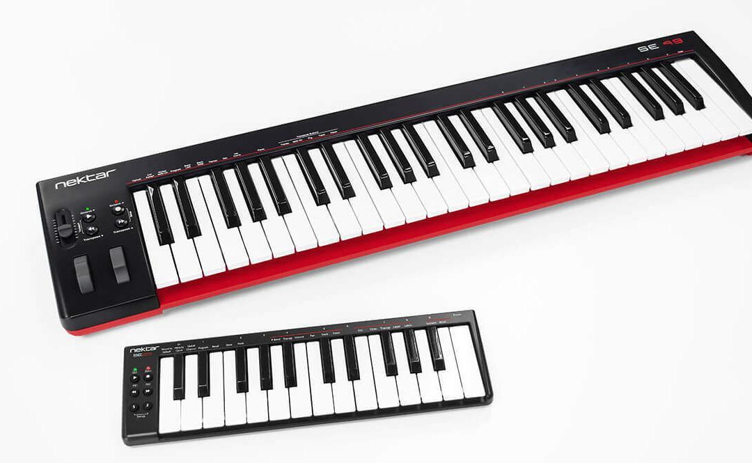 Nektar launch SE MIDI controller range Entry-Level USB MIDI