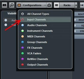 Hide Input Channels