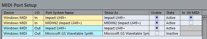 Image 3) Impact MIDI ports in Windows