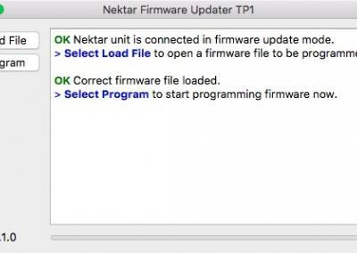 Image 10) A firmware file for Pacer has been loaded