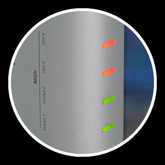 MIDIFlex 4 LEDs