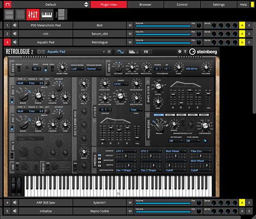 Nektarine Keyboard Mode Multi