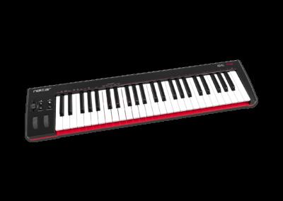 SE49 MIDI Controller left Angle