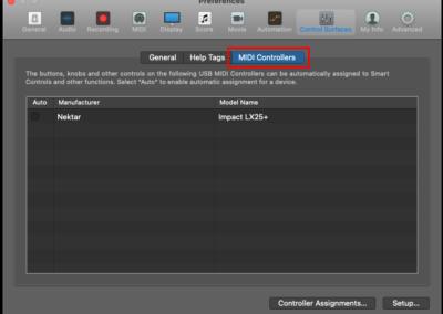 8) Logic MIDI Controllers