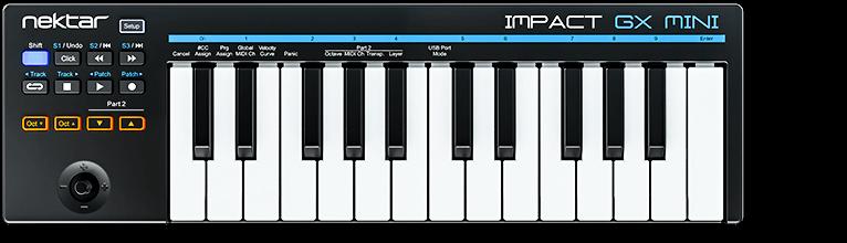 Impact GX Mini MIDI controller