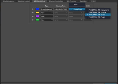 Panorama T Series - Pro Tools - MacOS